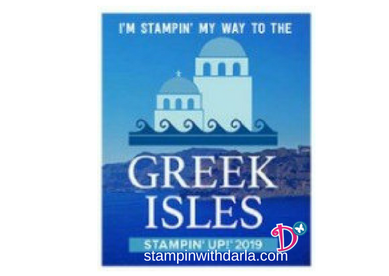 Stampin my way to Greece